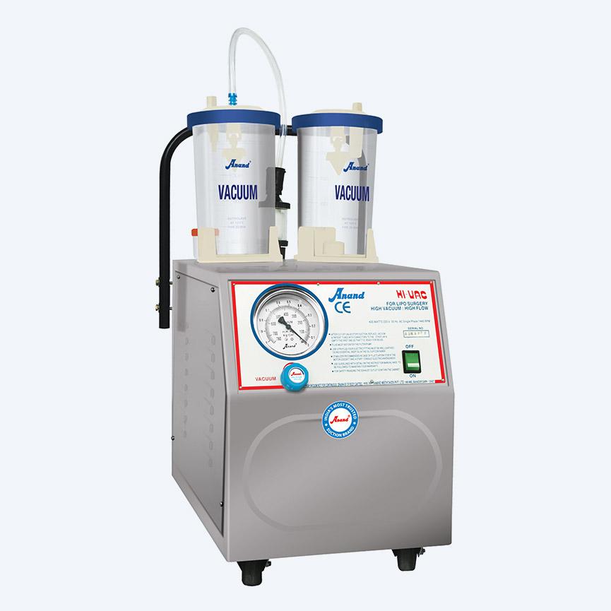 HI-VAC Pluss 90, High Vacuum Suction Unit